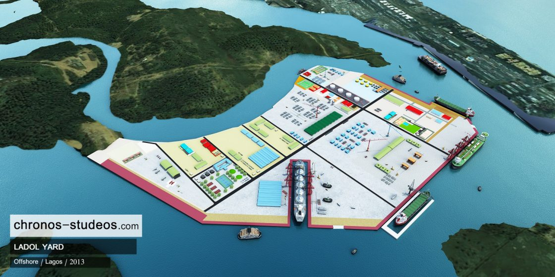 3d rendering of ladol yard lagos island oil and gas project (2)