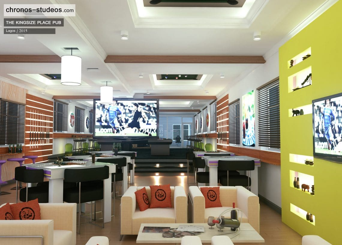 From Junk Hall To Sports Bar Interior Design By Chronos