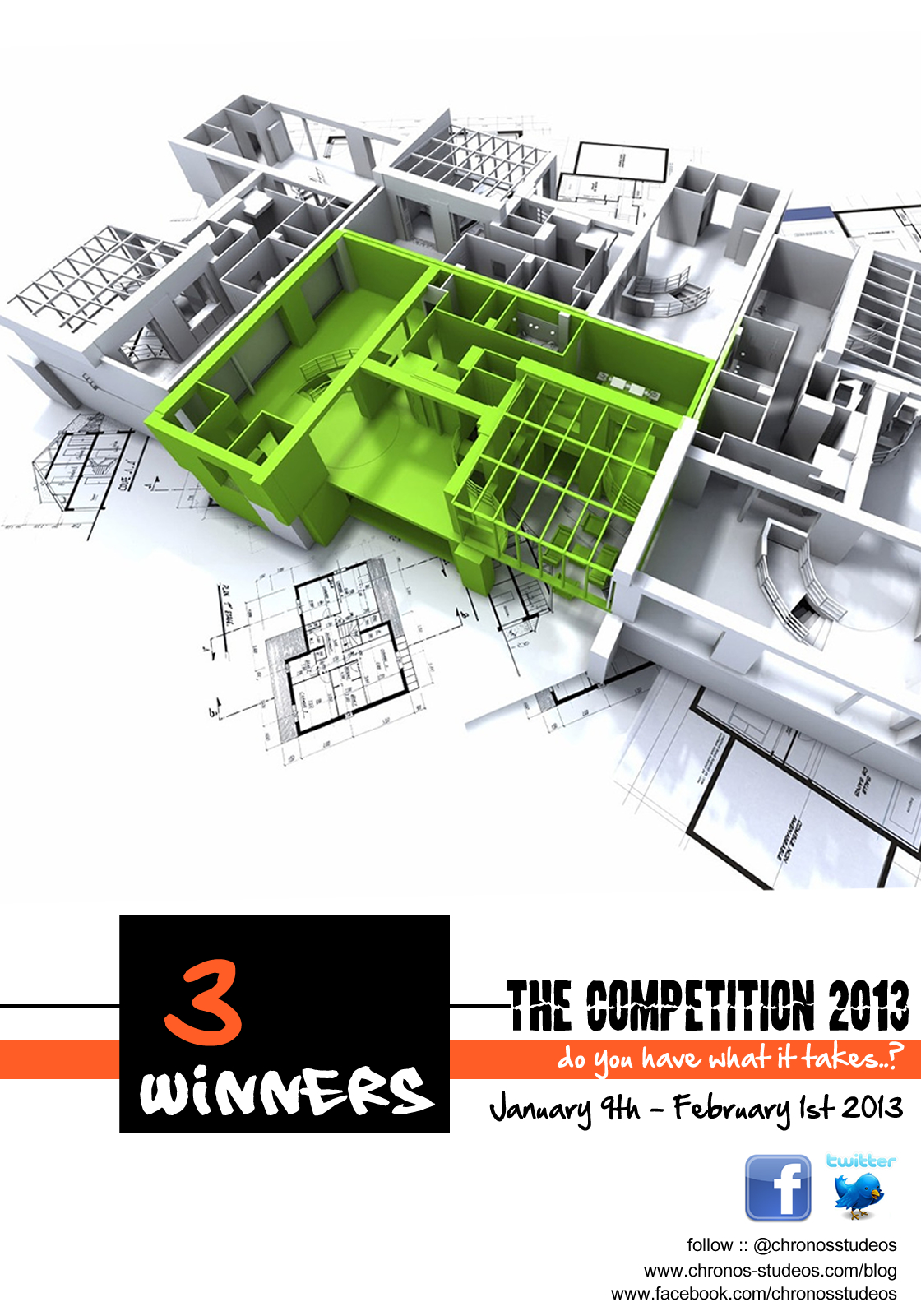 chronos studeos competition 2013 flyer