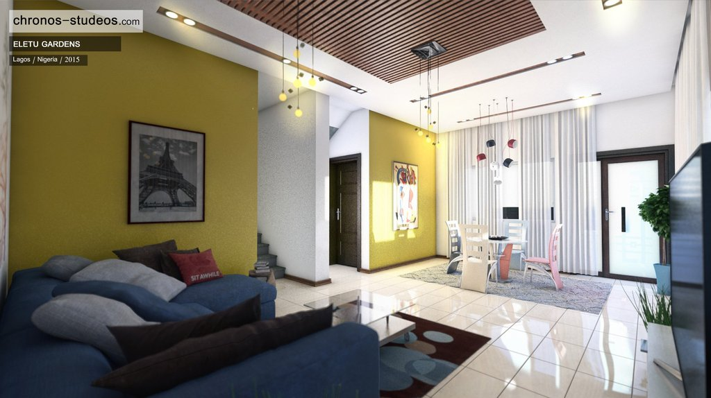 Interior design ideas for your living and dining rooms for Living room decoration in nigeria