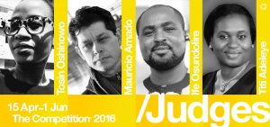 Judges announced for The Competition 2016